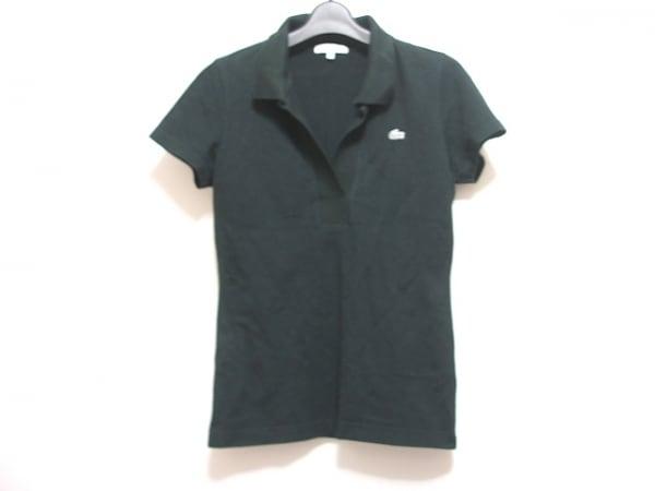 Lacoste(ラコステ) 半袖ポロシャツ サイズ40 M レディース 黒