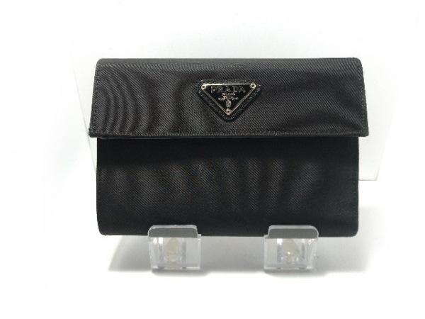 PRADA(プラダ) 3つ折り財布美品  - M510 黒 ナイロン 1