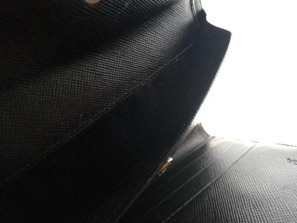 PRADA(プラダ) 3つ折り財布美品  - M510 黒 ナイロン 4