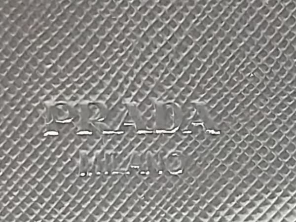 PRADA(プラダ) 3つ折り財布美品  - M510 黒 ナイロン 5