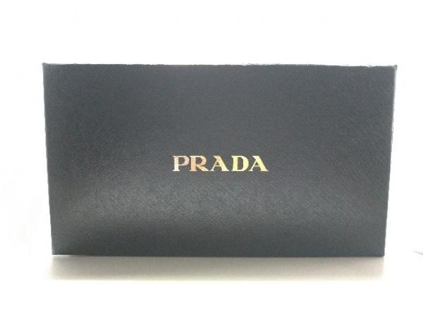 PRADA(プラダ) 3つ折り財布美品  - M510 黒 ナイロン 6