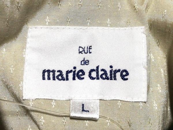 marie claire(マリクレール) ブルゾン サイズL レディース美品  ベージュ