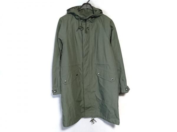 AIGLE(エーグル) コート サイズL メンズ カーキ 冬物/SQUOVAL