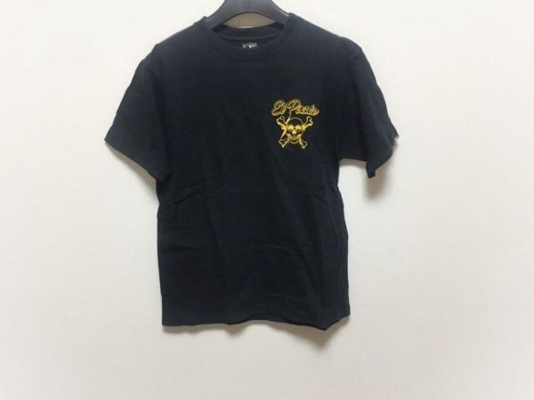 NEIGHBORHOOD(ネイバーフッド) 半袖Tシャツ レディース 黒×オレンジ スカル