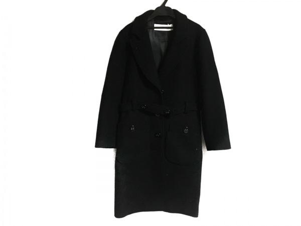 cacharel(キャシャレル) コート サイズ36 S レディース 黒 冬物