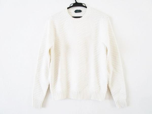 ZANONE(ザノーネ) 長袖セーター サイズ46 XL メンズ アイボリー