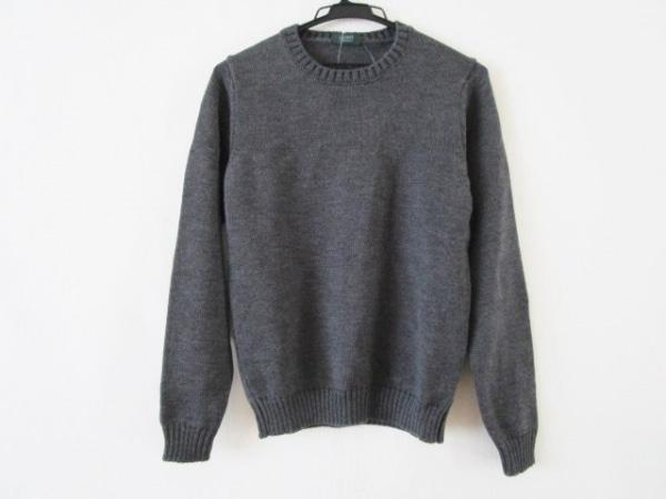 ZANONE(ザノーネ) 長袖セーター サイズ46 XL メンズ グレー