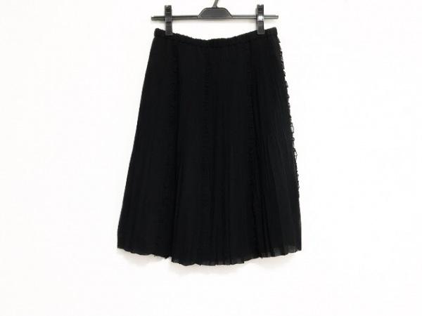 NOKO OHNO(ノコオーノ) スカート サイズ40 M レディース美品  黒 プリーツ