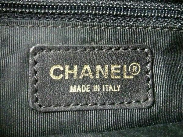 CHANEL(シャネル) ハンドバッグ チョコバー 黒 ラムスキン