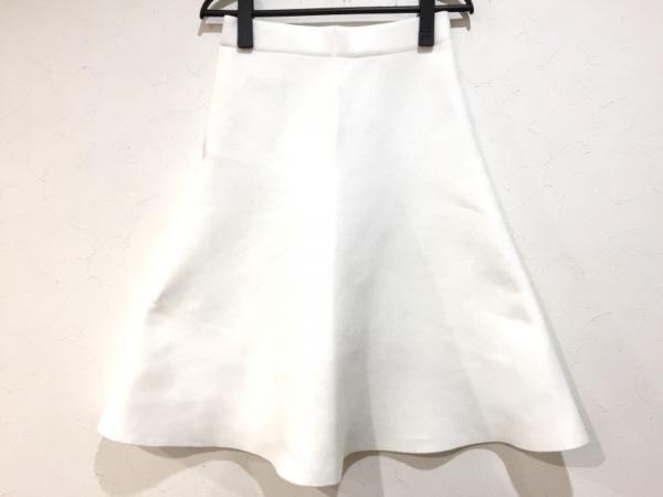 HYALINES(ハイアリン) スカート サイズ38 M レディース美品  白