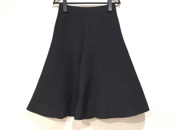 HYALINES(ハイアリン) スカート サイズ38 M レディース 黒
