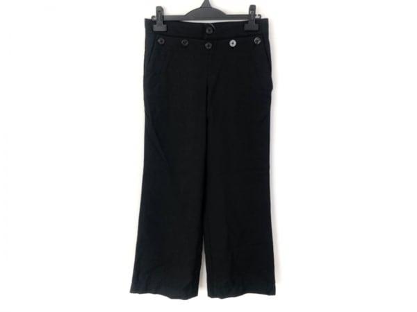 homspun(ホームスパン) パンツ サイズS レディース 黒