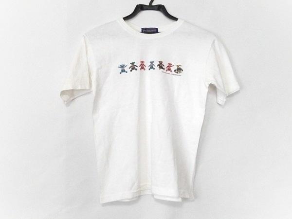 PENDLETON(ペンドルトン) 半袖Tシャツ サイズXS メンズ 白×レッド×マルチ クマ