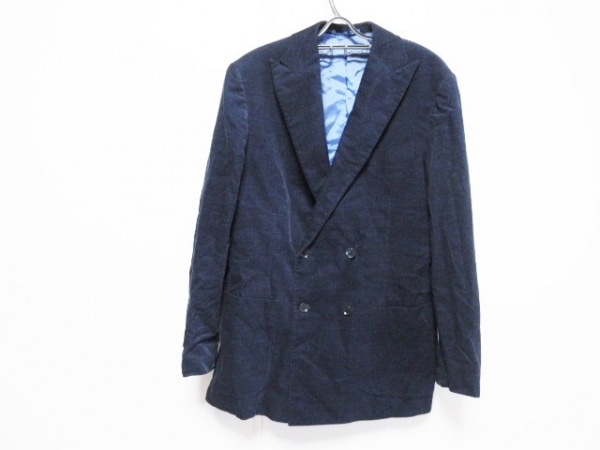 BRILLA(ブリラ) ジャケット サイズ48 XL メンズ ネイビー