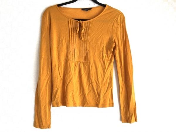バーバリーロンドン 長袖カットソー サイズ1 S レディース美品  オレンジ
