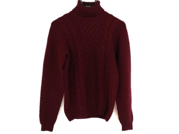 Drumohr(ドルモア) 長袖セーター サイズ46 XL メンズ ボルドー タートルネック