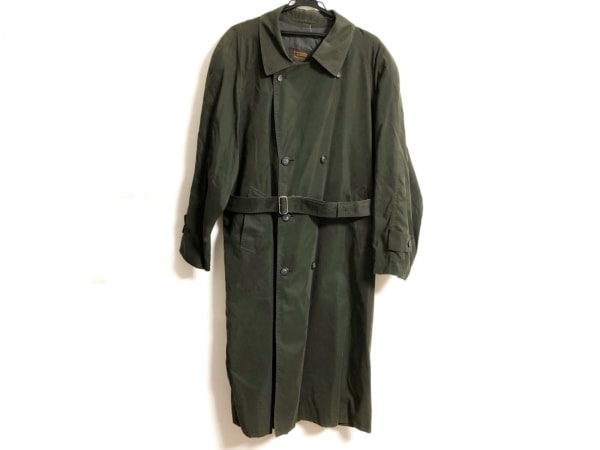 ARAMIS(アラミス) コート サイズ50ー36 メンズ ダークグリーン ネーム刺繍/春・秋物
