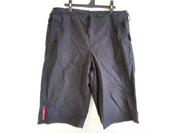 PRADA SPORT(プラダスポーツ) ハーフパンツ サイズ52 L メンズ 黒