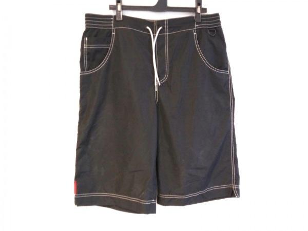 PRADA SPORT(プラダスポーツ) ハーフパンツ サイズ50 M メンズ 黒×白
