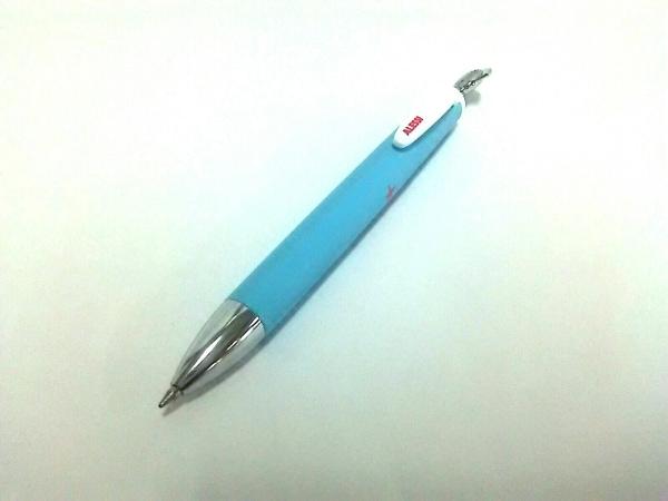 ALESSI(アレッシィ) ボールペン美品  ライトブルー×マルチ インクあり(黒)