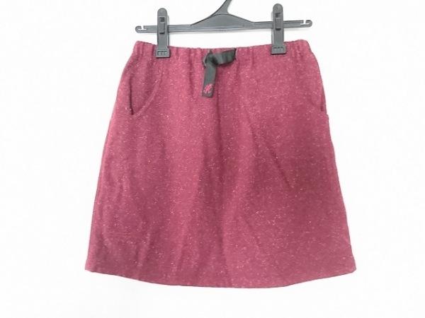 Gramicci(グラミチ) スカート サイズM レディース ボルドー