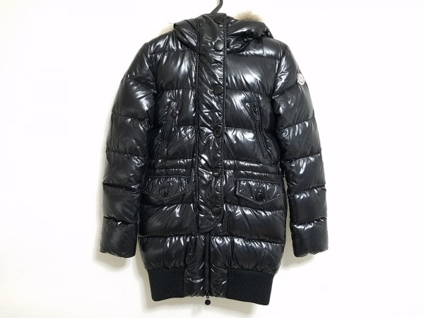 MONCLER(モンクレール) ダウンコート サイズ0 XS レディース LOIRE(ロワール) 黒 冬物