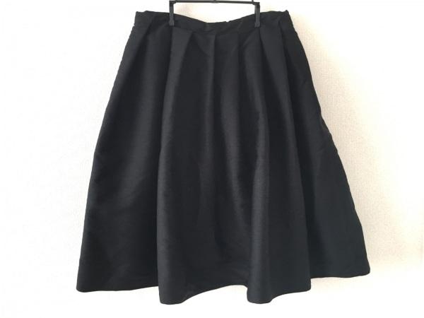 ソフィードール ロングスカート サイズ36 S レディース美品  黒 フレアスカート