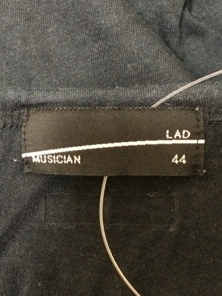 LAD MUSICIAN(ラッドミュージシャン) タンクトップ サイズ44 L メンズ 黒