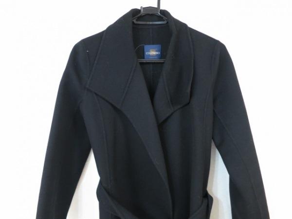 COLOMBO(コロンボ) コート レディース美品  黒 冬物