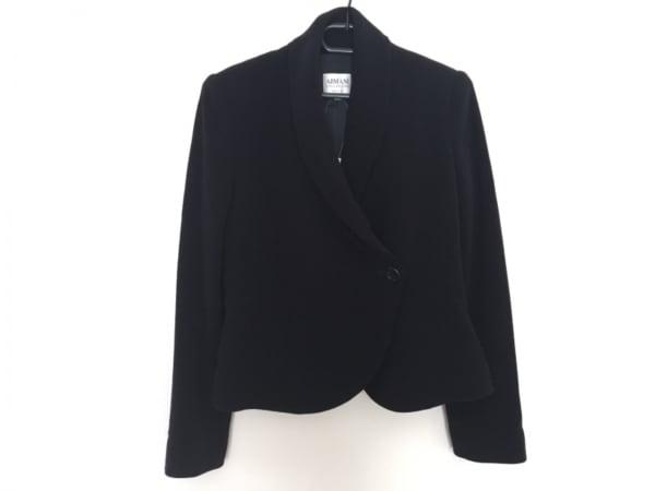 ARMANICOLLEZIONI(アルマーニコレッツォーニ) ジャケット レディース美品  黒