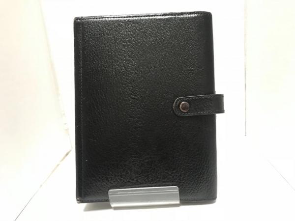 ASHFORD(アシュフォード) 手帳 黒 レザー