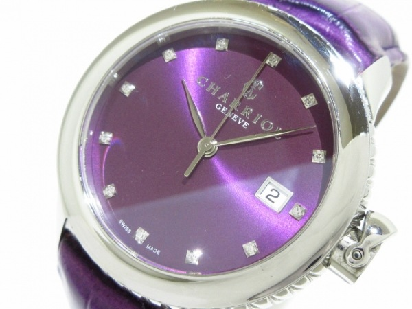 CHARRIOL(シャリオール) 腕時計 コロンブス CO36Q レディース プルーン
