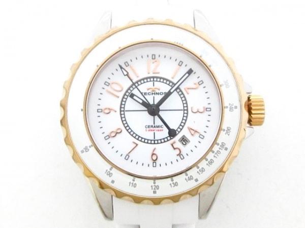 TECHNOS(テクノス) 腕時計美品  T9870 レディース 白