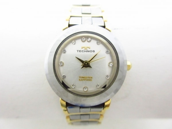 TECHNOS(テクノス) 腕時計美品  T9816 レディース アイボリー