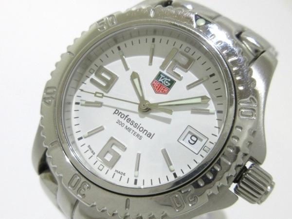 TAG Heuer(タグホイヤー) 腕時計 プロフェッショナル200 WT1214 ボーイズ 白