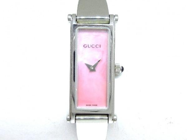 GUCCI(グッチ) 腕時計 1500L レディース ピンク