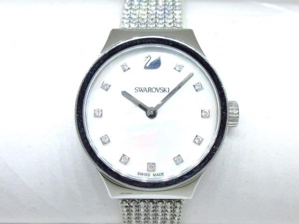 SWAROVSKI(スワロフスキー) 腕時計 - レディース 白