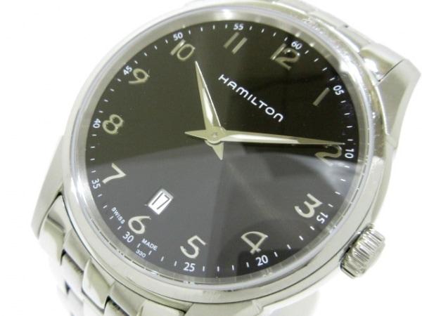 HAMILTON(ハミルトン) 腕時計 ジャズマスターシンライン H385111 メンズ 黒