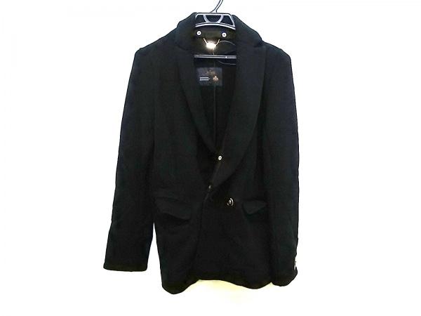 the dress&co(ザドレスアンドコー) ジャケット レディース 黒 ロング丈