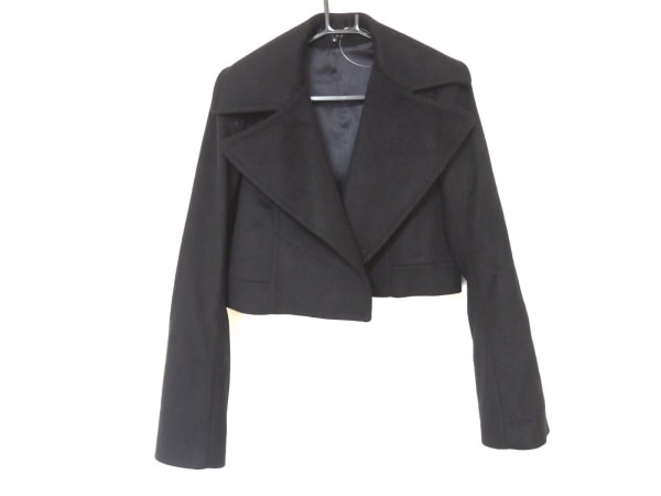 theory(セオリー) ジャケット サイズ2 S レディース美品  黒 ショート丈