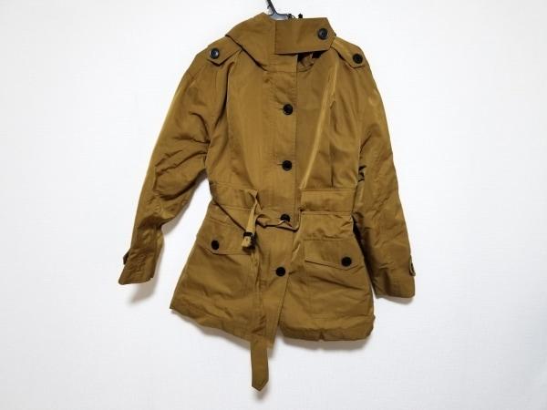 バーバリープローサム コート サイズI42 M レディース美品  ライトブラウン 春・秋物