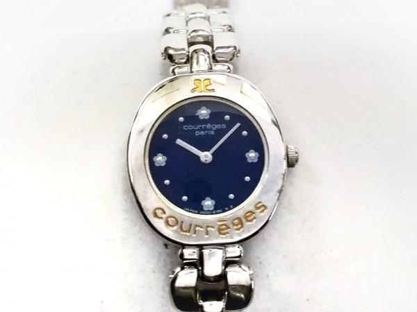 COURREGES(クレージュ) 腕時計 V400-0660 レディース ネイビー