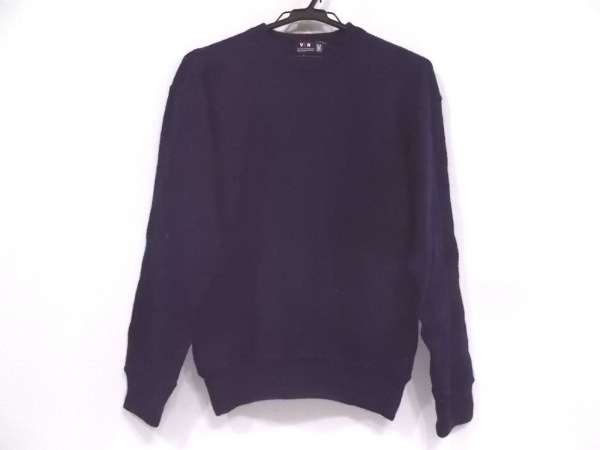 VAN(バン) 長袖セーター サイズM メンズ ネイビー