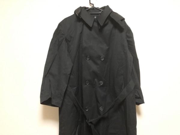 yohjiyamamoto(ヨウジヤマモト) トレンチコート メンズ 黒 冬物