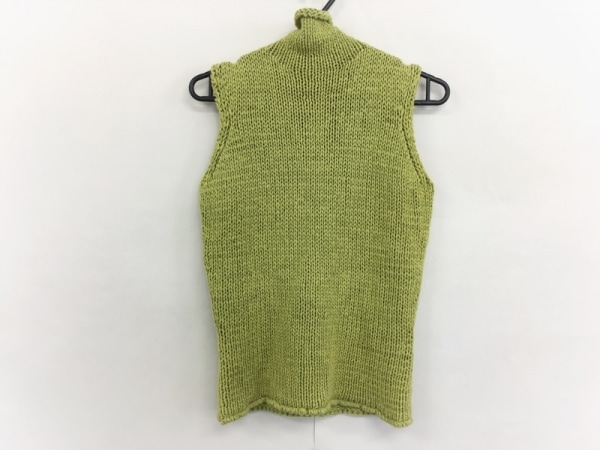 バーバリーロンドン ノースリーブセーター サイズ2 M レディース美品  グリーン