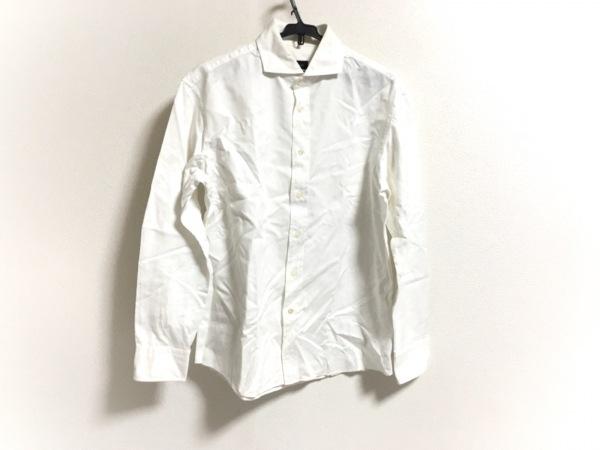 JOSEPH HOMME(ジョセフオム) 長袖シャツ サイズ48 XL メンズ 白