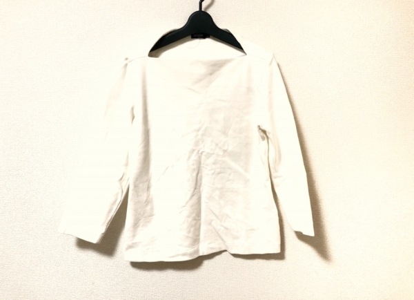 ケイトスペードサタデー 七分袖カットソー サイズM レディース美品  アイボリー