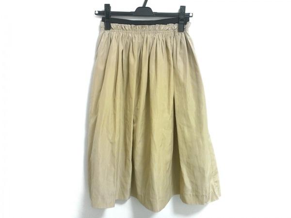 Mila Owen(ミラオーウェン) スカート サイズF レディース美品  ベージュ