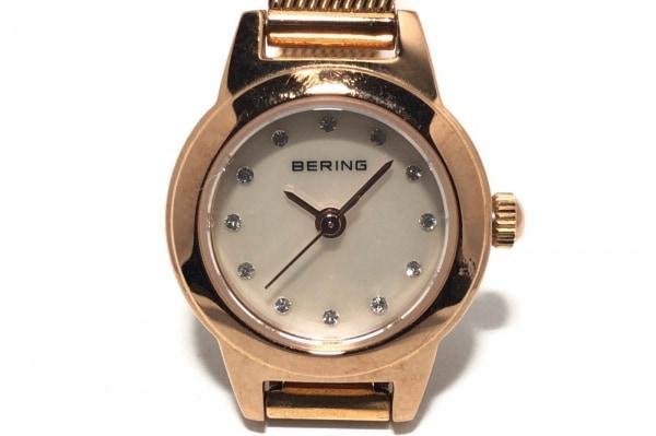 BERING(ベーリング) 腕時計 11119-366 レディース シェル文字盤/ラインストーン