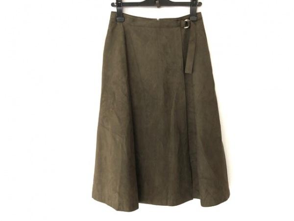 MACKINTOSH(マッキントッシュ) スカート サイズ38 M レディース ダークブラウン